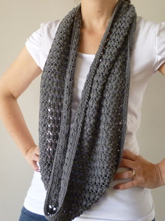 The Easy Lace Cowl Random Knits